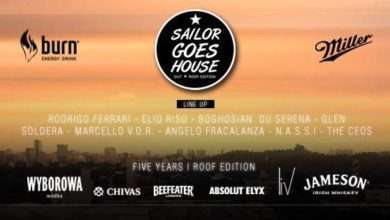 Foto de Sailor Goes House comemorou cinco anos em roof top inédito e atração internacional