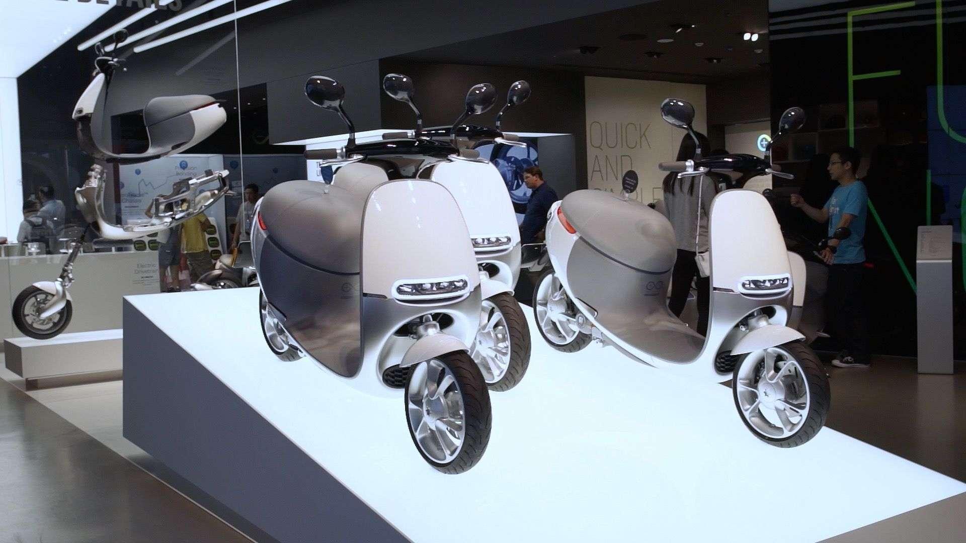 Foto de Gogoro, Smart Scooter Future ! Apresentado na última edição da CES