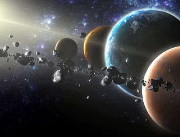 Foto de US$ 10 quintilhões minerando asteroide entre Marte e Júpiter