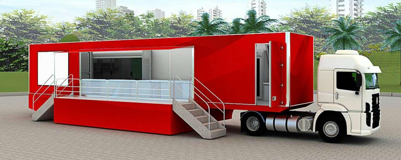 Foto de Brasil inaugura o maior food truck do mundo