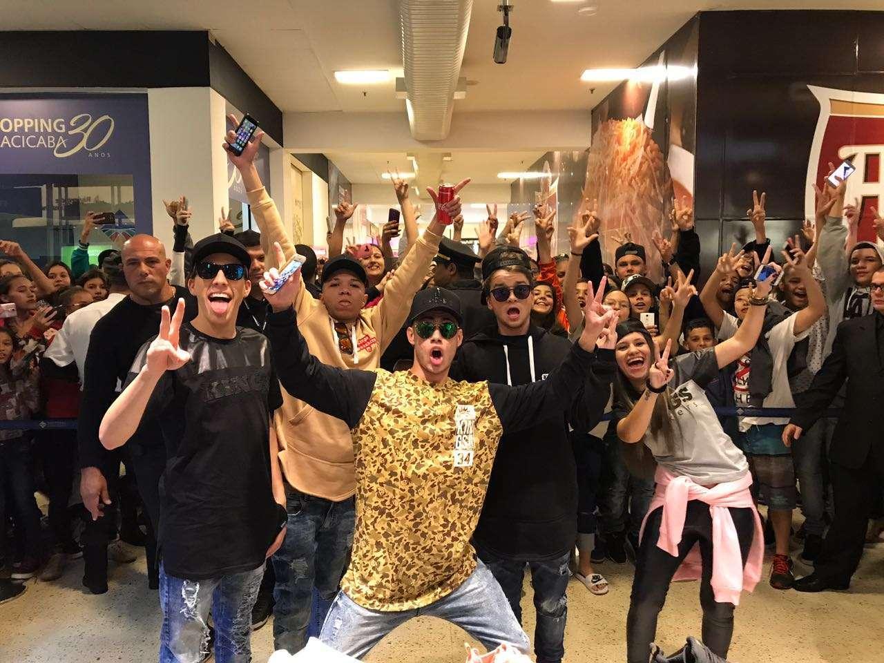 Foto de Encontro de Youtubers agita Shopping Piracicaba em SP