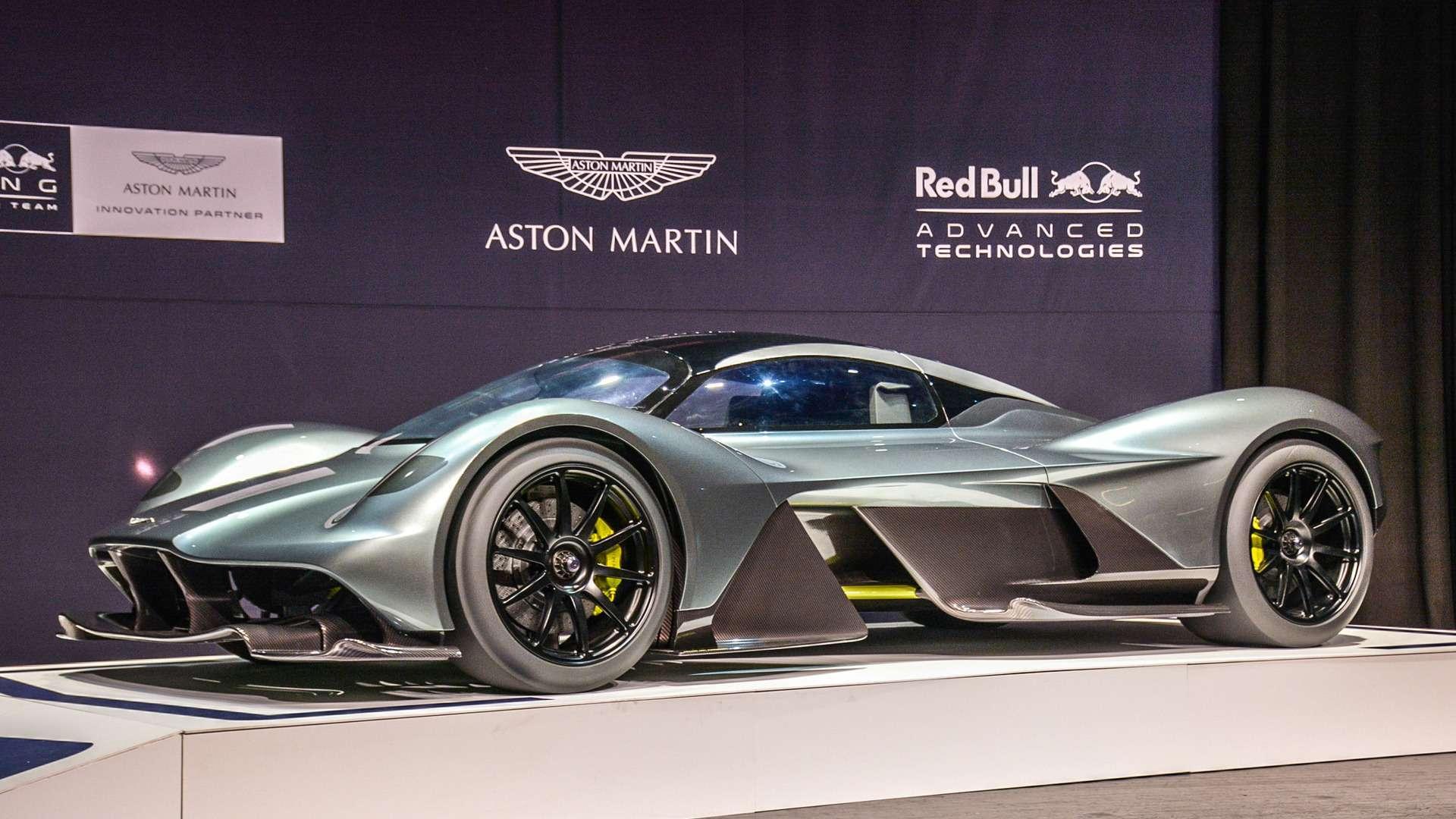Foto de Aston Martin Valkyrie por EUR 2,8 Milhões está quase pronto
