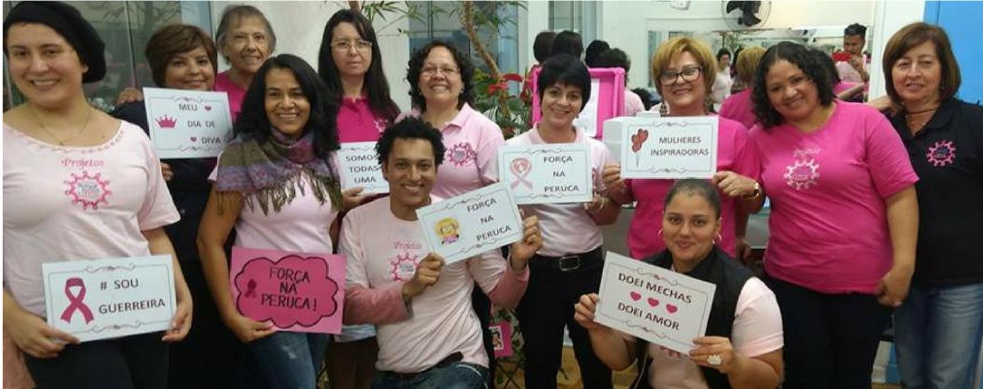 Foto de Projeto Mechas de Amor recebe doação de cabelos para mulheres com câncer