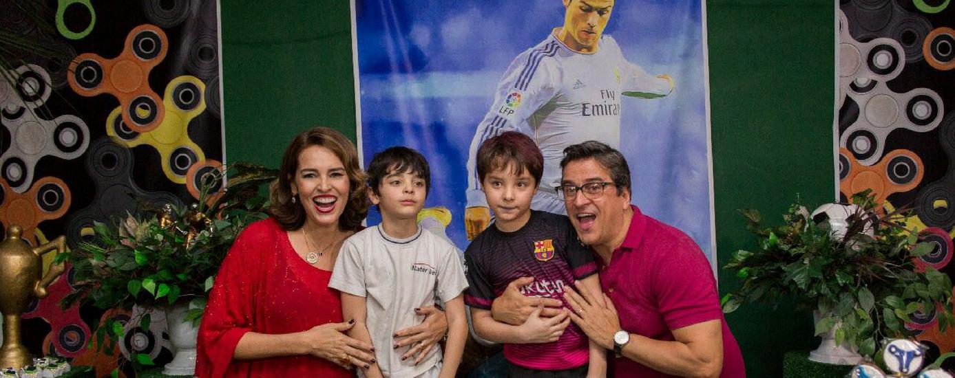 Foto de Suzy Rêgo festeja aniversário dos filhos em São Paulo