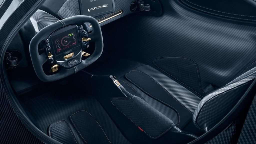Aston Martin Valkyrie por EUR 2,8 Milhões está quase pronto