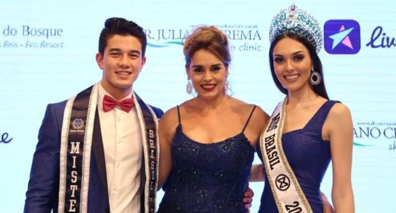 Foto de Miss Brasil Mundo e Mister Brasil são eleitos em concurso