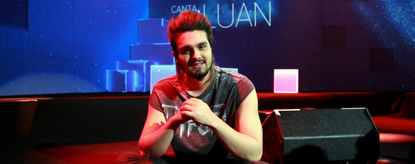 Foto de Luan Santana estreia programa ao vivo no canal Multishow