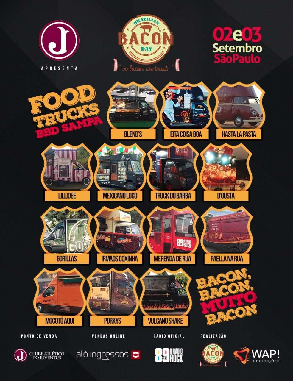 Food Trucks confirmados
