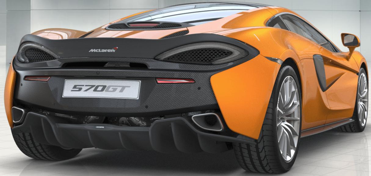 McLaren 570GT é a versão classificada do célebre 570S