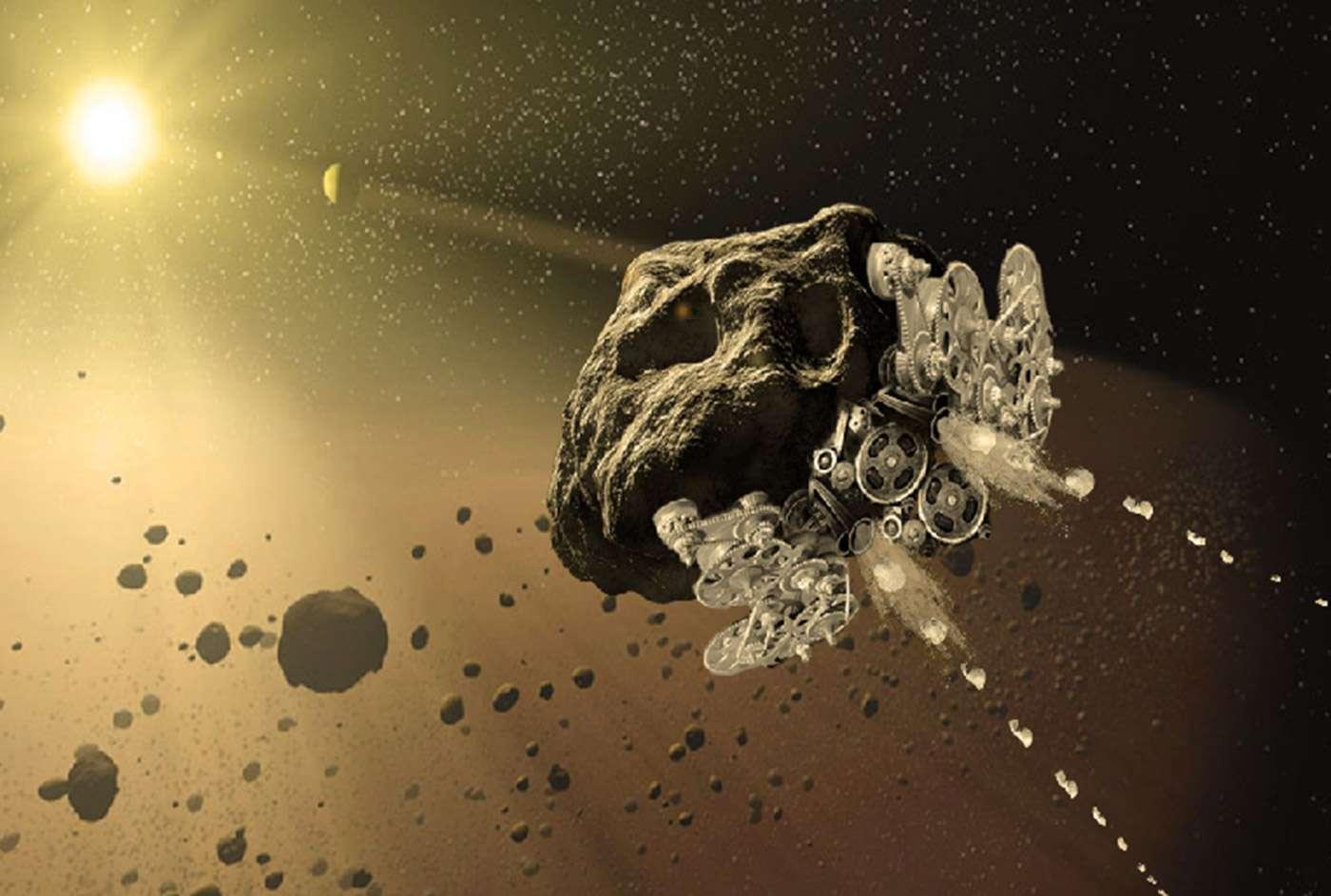 Foto de Asteroide passa raspando pela Terra
