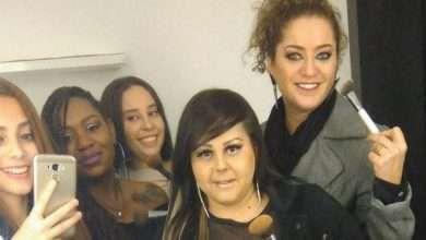 Foto de Juliana Talita modelo e maquiadora  participa de clipe no ABC