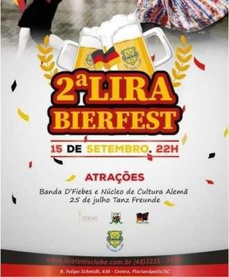 Lira Bierfest - Banner divulgação