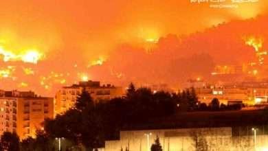 Foto de Incêndio destrói parte da cidade de Braga