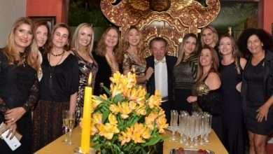 Foto de O Embaixador da Itália Stefano Alberto Canavesio , comemora seu aniversário em noite glamourosa