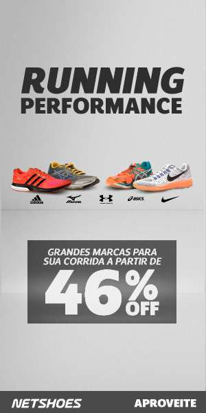 [Netshoes] 300×600 – Running Performance 46% Off