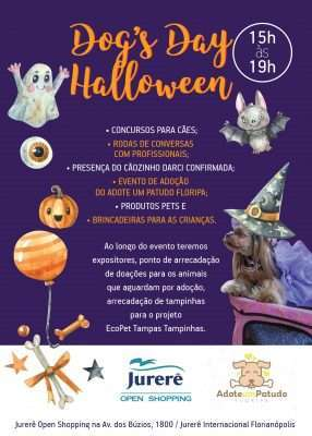 Flyer - Dog's Day Halloween