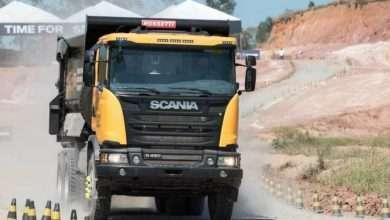 Foto de Scania Heavy Tipper chega como solução completa  para a mineração