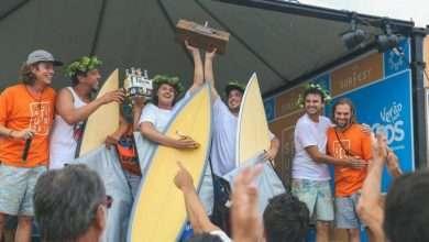 Foto de Corona é a cerveja oficial do Desafio Surfest Luz desafio em águas frias