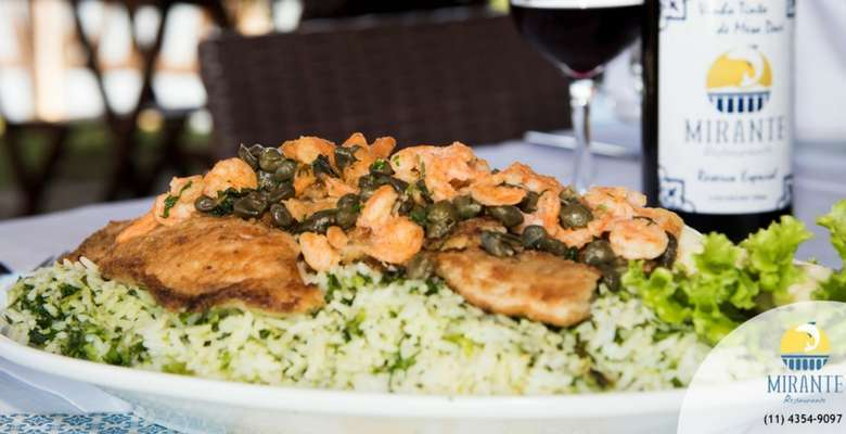 A gastronomia de alta qualidade, com ingredientes frescos e bem temperados
