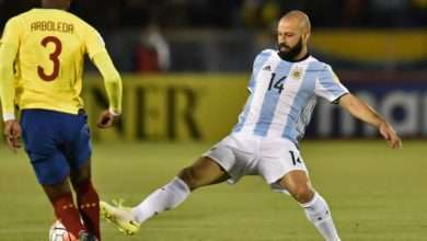 Foto de Mascherano anuncia que vai se aposentar da seleção Argentina