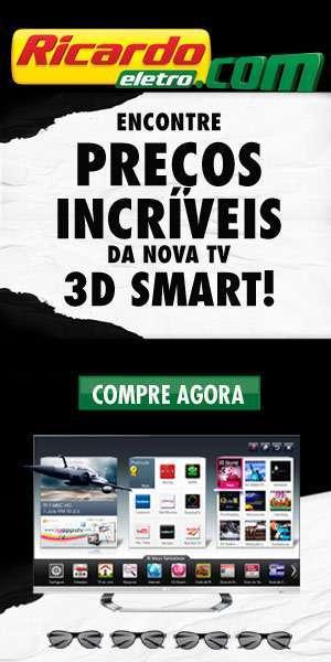 [Ricardo Eletro] 300×600 – Smart Tv 3D