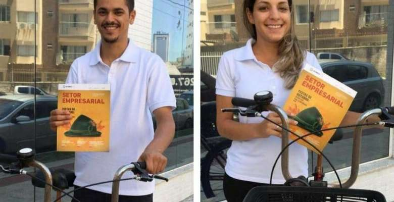 Entregas de bike - Foto divulgação, acibalc, entregas, bike, revista, sustentabilidade