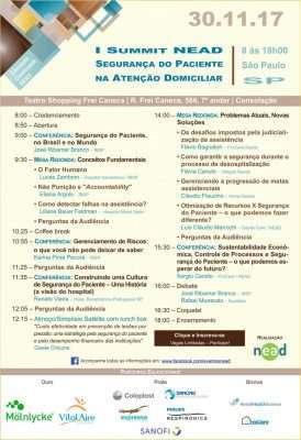 Agenda do Evento - Foto Divulgação
