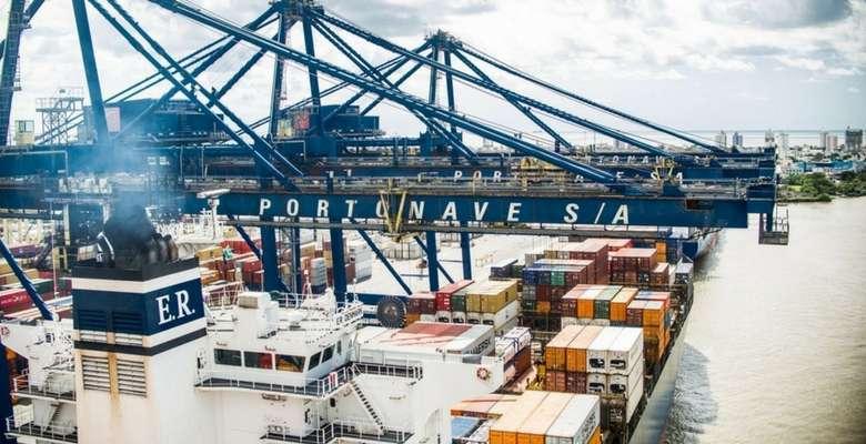 Portonave - Foto divulgação navio lide futuro empresarios