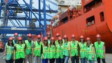 Foto de A estrutura da Portonave, em Navegantes recebeu o LIDE Futuro SC