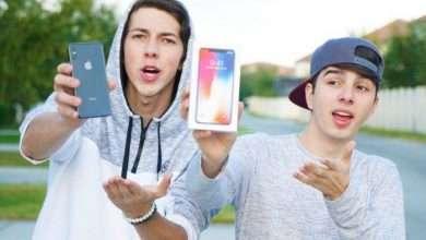 Foto de Youtubers que moram nos EUA sorteiam Iphone X entre seguidores brasileiros