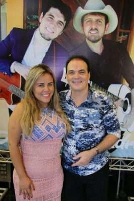 Viviane Alves e Newton Kareli -Foto Diego Fernando Barros