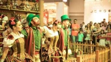 Foto de Espetáculos de Natal encantam adultos e crianças aos fins de semana