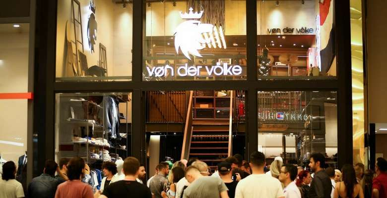 Inauguração da loja Von Der Volke no Balneário Shopping - Fotos Guma Miranda