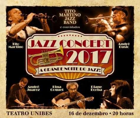 Tradicional Jazz Concert acontece na Unibes Cultural