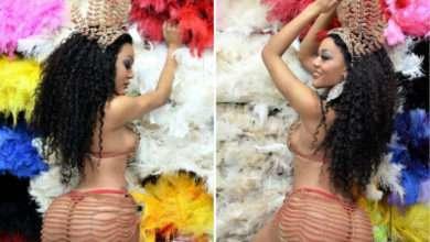 Foto de Cássia Almeida a Musa Carioca que vem chamando atenção no Carnaval Paulistano