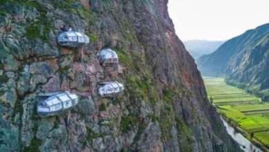 Foto de Você já se imaginou hospedando no topo de uma montanha