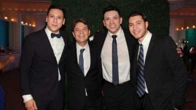 Foto de Rubén Torrego e Arilton Freitas foram homenageados em festa luxuosa para Vips e Famosos