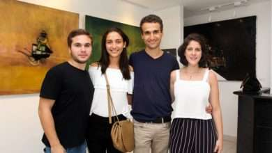 Foto de Thiago Haidar festeja sucesso de sua arte na Saphira e Ventura Gallery