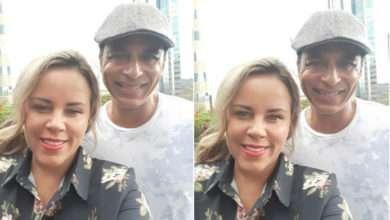 Foto de Exclusivo: Viviane Alves entrevista Jon Secada para o programa Fama e Destaque da TV Guarulhos