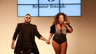 Foto de Ousado estilista Bruno Bacck chocou no Fashion Weekend Plus Size