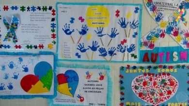 Foto de Caminhada chama atenção para inclusão de crianças autistas nas escolas