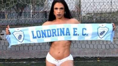Foto de Leislie Aquino, Musa Fitness do Londrina E. C.