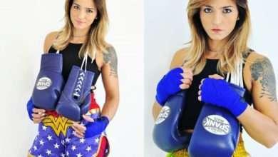 Foto de Karina Canuto disputa mais um título no eventoVFC Vale Fight Combat
