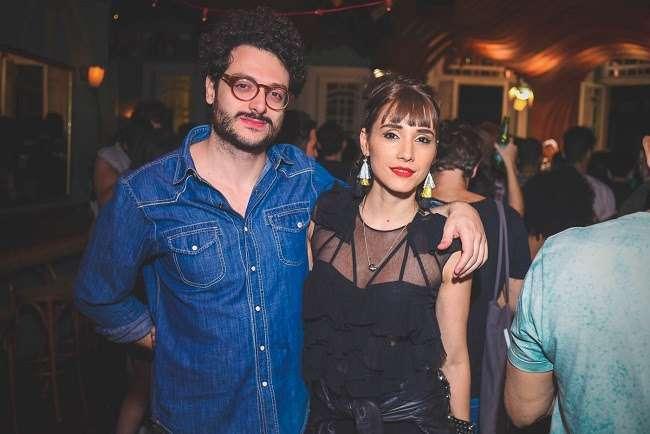 Pedro Urizzi e Lia Paris