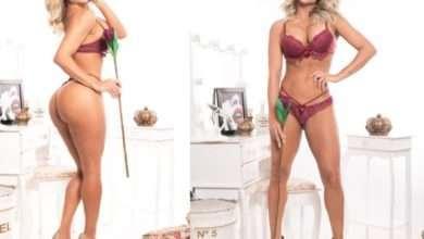 Foto de A musa fitness Dayse Brucieri exibiu seu corpão em ensaio sensual