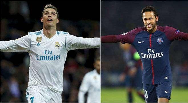 Sem Cristiano Ronaldo Neymar está no radar do Real Madrid - Divulgação