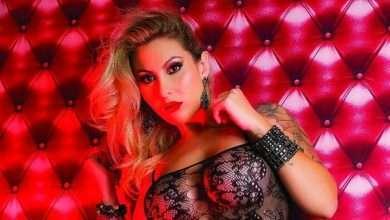 Foto de Modelo Alana Voguell realização sonho de posar para Revista Sexy