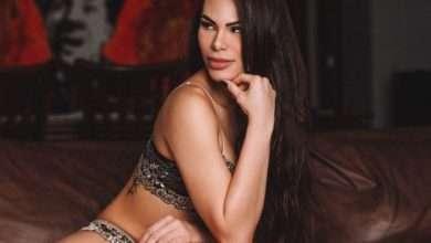 Foto de A modelo e dançarina Rayssa Melo aderiu ao Lingerie Day