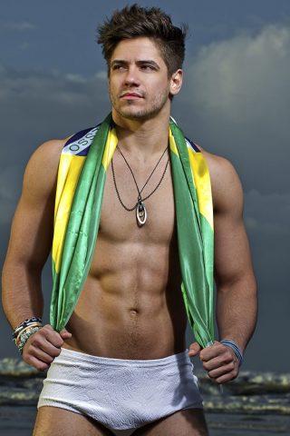 Andrio Frazon, Mister Brasil Pró-Beleza 2017