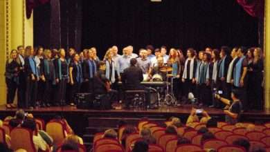 """Foto de CORALUSP """"Azul canta Beatles"""" no Programa Tardes Musicais da Casa-Museu Ema Klabin"""